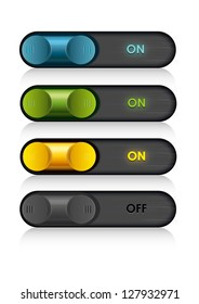 Radio or web buttons
