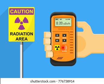 Radioactive detector test equipment device leak nuclear meter measurement atomic disaster chernobyl control analysis medical ionizing physic experimental pollution toxic energy zone scientist research
