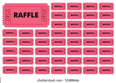 Raffle Tickets. Hold your own Raffle.