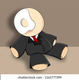rag doll illustration