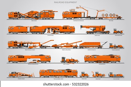 Railway Maintenance Stock Illustrations, Images & Vectors
