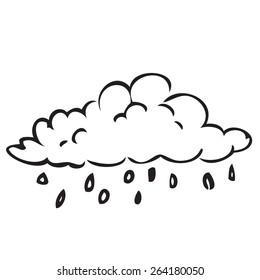 Rain Cloud Doodle