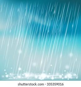 Rain illustration