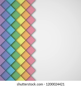 Rainbow abstract background.