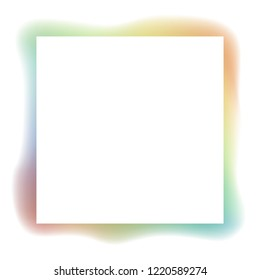 Rainbow abstract vector Background. Rainbow colors frame. Spectrum colors illustration eps 10.