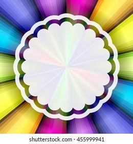Rainbow background. Abstract vector rainbow background. Rainbow vector colors background..