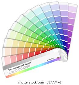 Rainbow color sampler