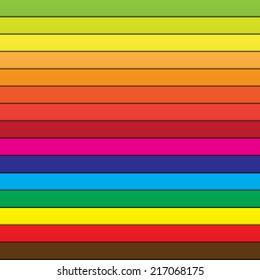 Rainbow color wallpaper, vector