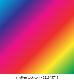 rainbow color colors background wallpaper のベクター画像素材