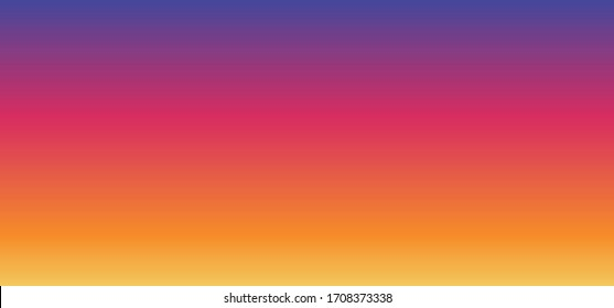 Rainbow colors for instagram, whatsapp chat talk Background gradient cmyk, rgb colour banner or wallpaper texture Social Media network icons Funny share online mobile photo video sharing Insta logo