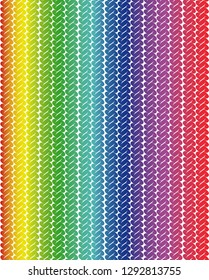 Rainbow colors on textured background vector print
