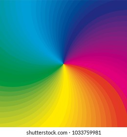 Rainbow concept background. Vector illustration for your business artwork.