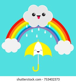 Rainbow Clouds Icon Emoji Images, Stock Photos & Vectors