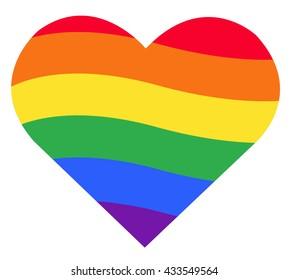 Rainbow Heart Images, Stock Photos & Vectors | Shutterstock