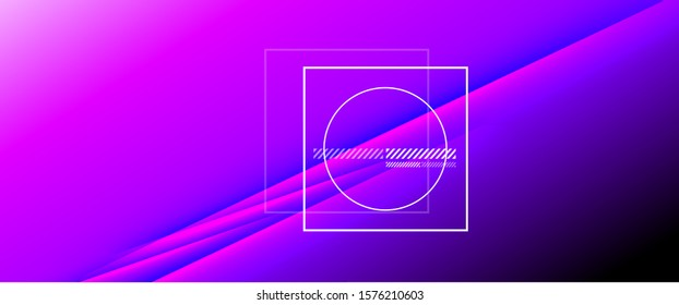Rainbow fluid gradient background with abstract lines. Colorful geometric background pattern. Vector Illustration For Wallpaper, Banner, Background, Card, Book Illustration, landing page