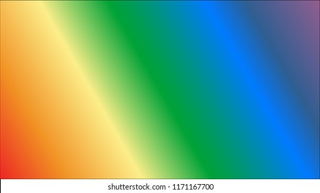 Rainbow gradient vector background with copy space