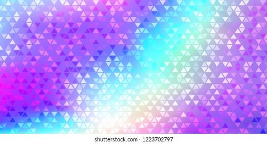 Rainbow Hologram Gradient Vector Background. Luxury Trendy Spectrum Pearlescent Glam Overlay. Rainbow Holographic Princess, Fairytale, Cute Girlie Texture. Unicorn Fairy Tale Neon Hologram Gradient
