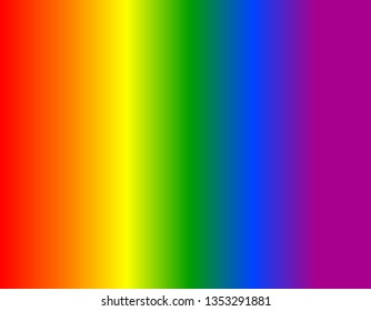 Rainbow LGBT pride flag. International Day Against Homophobia. Bright red, orange, yellow, green, blue, purple blended stripes. Background with rainbow colors pattern in vertical view
