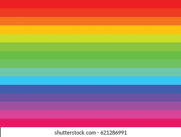 Rainbow lines colorful background, Illustration, EPS 10
