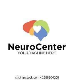 Rainbow Neuro Center Logo Template