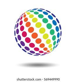 Rainbow on white. Rainbow abstract background. Rainbow border. Rainbow vector colors.