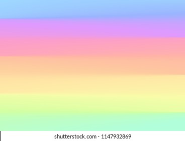 Rainbow pastel color Background.