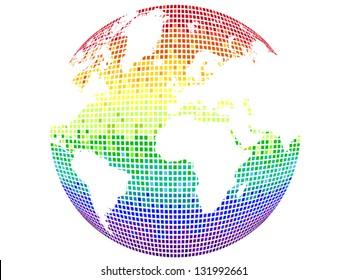 Rainbow Planet