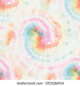 Rainbow Spiral Tie Dye Swirl. Seamless Pale Tiedye. Seamless Tiedye. Vector Tie Dye Shirt. Red Rainbow Tye Dye. Pink Color Swirl Background. Pastel Music. Seamless Soft Tie Dye. Pastel Pale Background