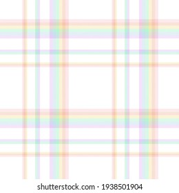 Rainbow Tartan Glen Plaid textured seamless pattern suitable for fashion textiles and graphics