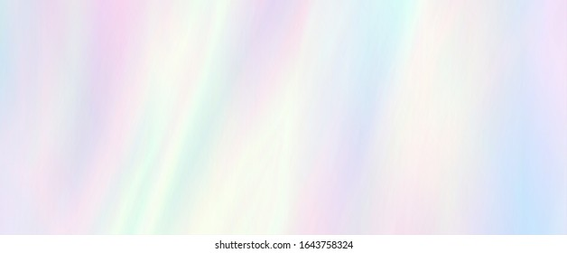 Rainbow texture. Holographic design. Trendy background. Soft hues are a classic spring, summer. A pastel color palette can be a gorgeous, unique design.