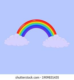 Rainbow - vector clip art