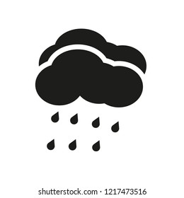 Rainfall icon. Trendy Rainfall logo concept on white background from Weather collection. Suitable for use on web apps, mobile apps and print media.