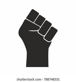 Raised Fist / Black Power Symbol vector
