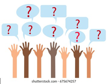 Raising Hands and Asking Questions