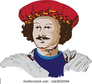 Raja Ram Mohan Roy Illustration