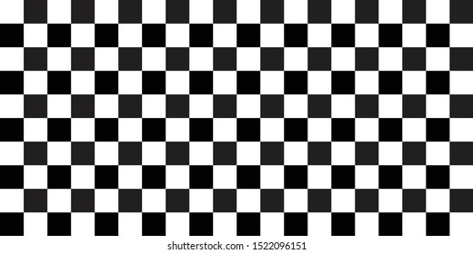rally flag texture. chess background pattern. black and white square backdrop