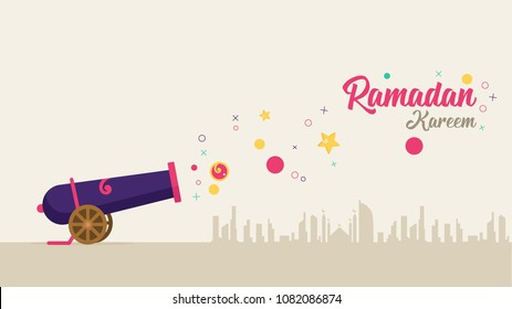 Ramadan Cannon Background