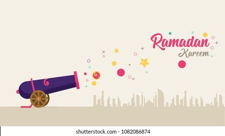 Ramadan Cannon Background