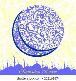 Ramadan greetings arabic script islamic greeting stock illustration ramadan greetings in arabic script an islamic greeting card for holy month of ramadan kareem m4hsunfo Gallery
