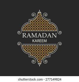 ramadan kareem background, ramadan kareem line style lantern, ramadan holiday, vector illustration eps 10, ramadan greeting card with arabic text ramadan