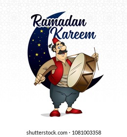 Ramadan kareem, ramadan drummer, islamic and turkish celebration