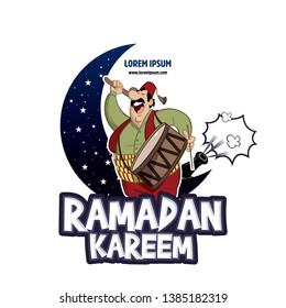 Ramadan kareem, ramadan drummer, islamic and turkish celebration