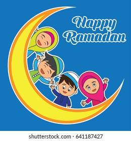 imagenes fotos de stock y vectores sobre happy ramadan quotes