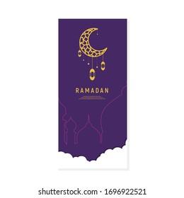 ramadan kareem is muslim event, arabic calligraphy for islamic greeting background