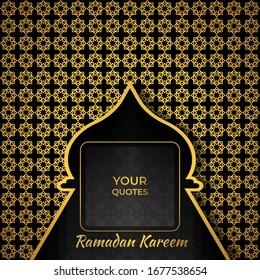 ramadan kareem quote template mosque 260nw 1677538654
