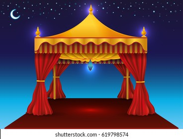 Ramadan Kareem Tent for iftar
