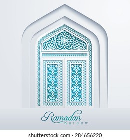 Ramadan Kareem White Mosque Door Geometric Pattern  sc 1 st  Shutterstock & Mosque Door Images Stock Photos u0026 Vectors | Shutterstock