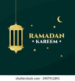 ramadan kareem you can use it for greeting card, calendar, brochure and wallpaper vector illustration