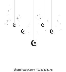 Ramadan Lantern Vector Template Design Illustration