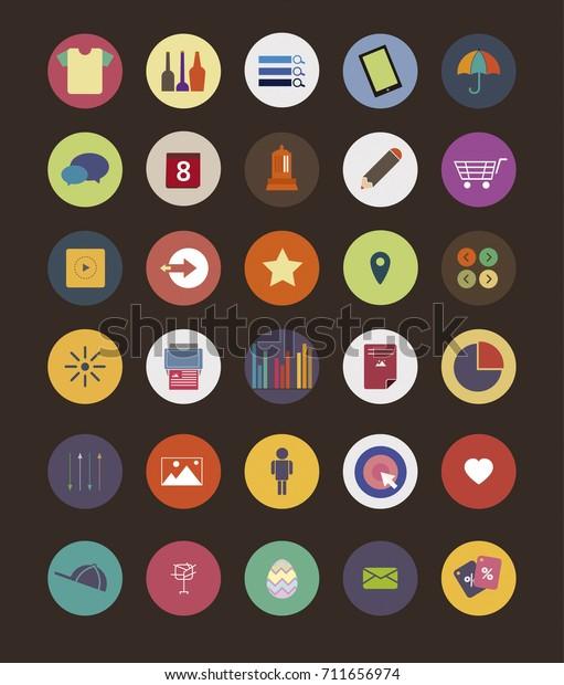 Random 30 Icon Set
